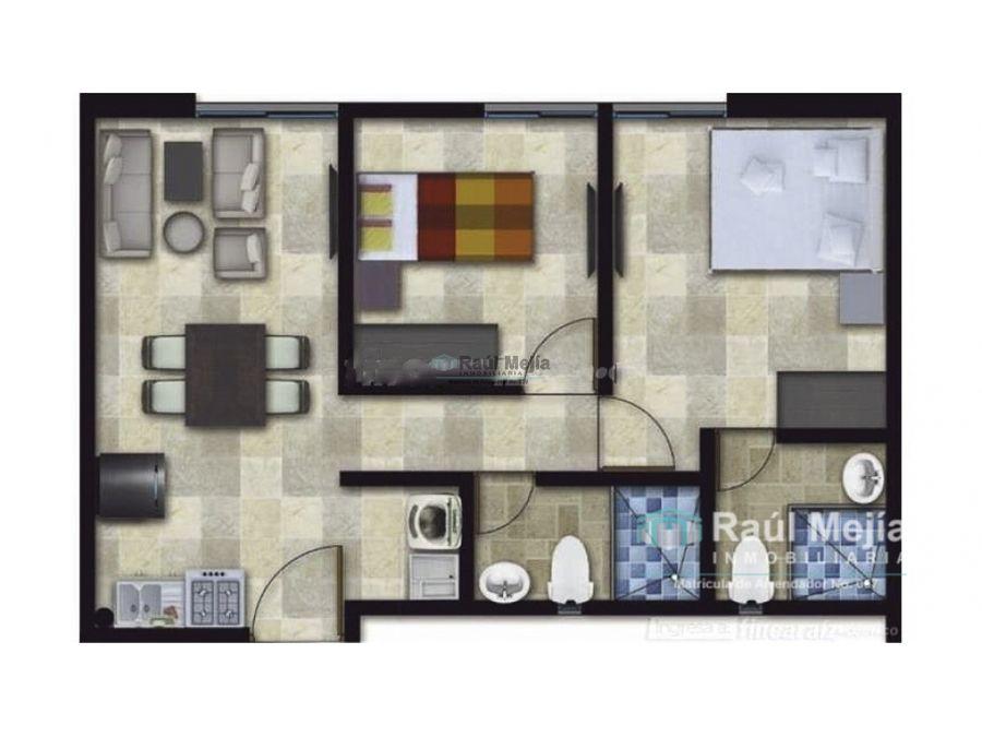vendo apartamento en sector oro negro al norte de armenia