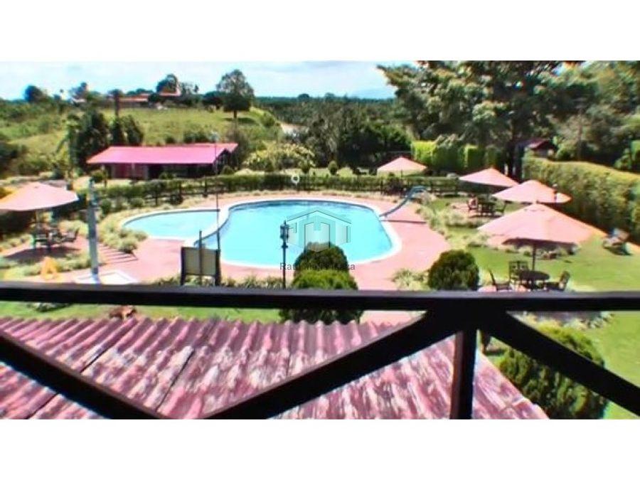 venta finca hotel via armenia barcelona calarca