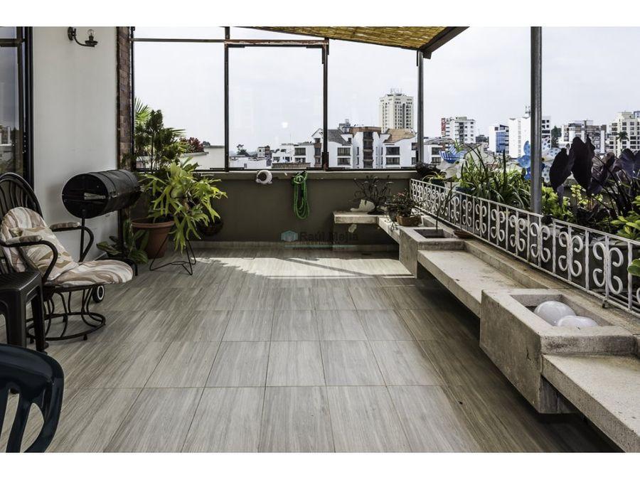 venta penthouse con terraza edificio piamonte al norte armenia quindio