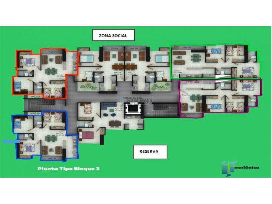 vendo apartamento en tesalonica al occidente de armenia