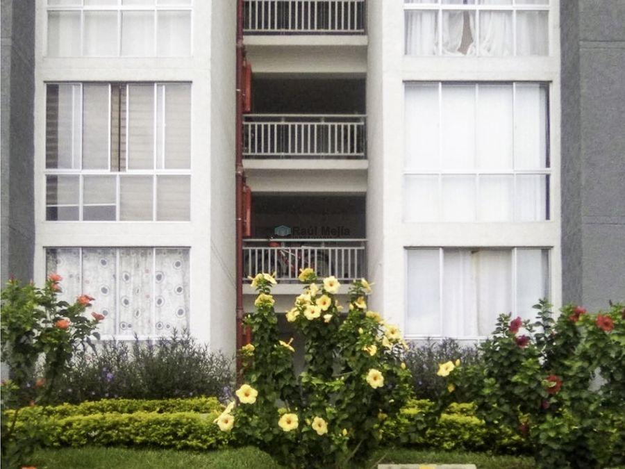 vendo apartamento en conjunto cerrado en armenia via a la tebaida