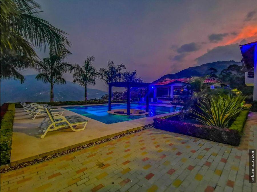 casa campestre en copacabana unidad cerrada piscina y vista