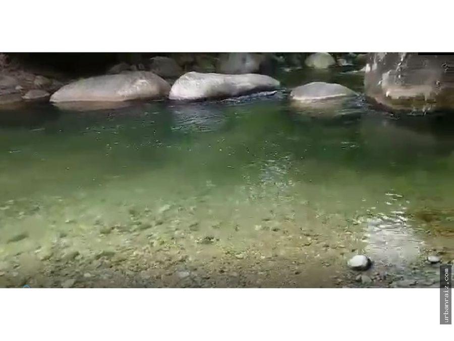 terreno ideal para ecoturisomo san rafael 27 has