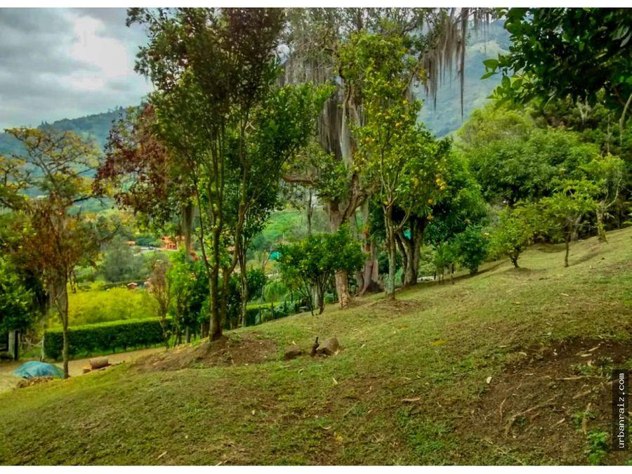 finca de 6 hectareas en copacabana para proyectos
