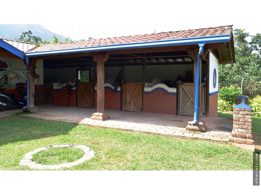 finca en venta en copacabana unidad cerrada