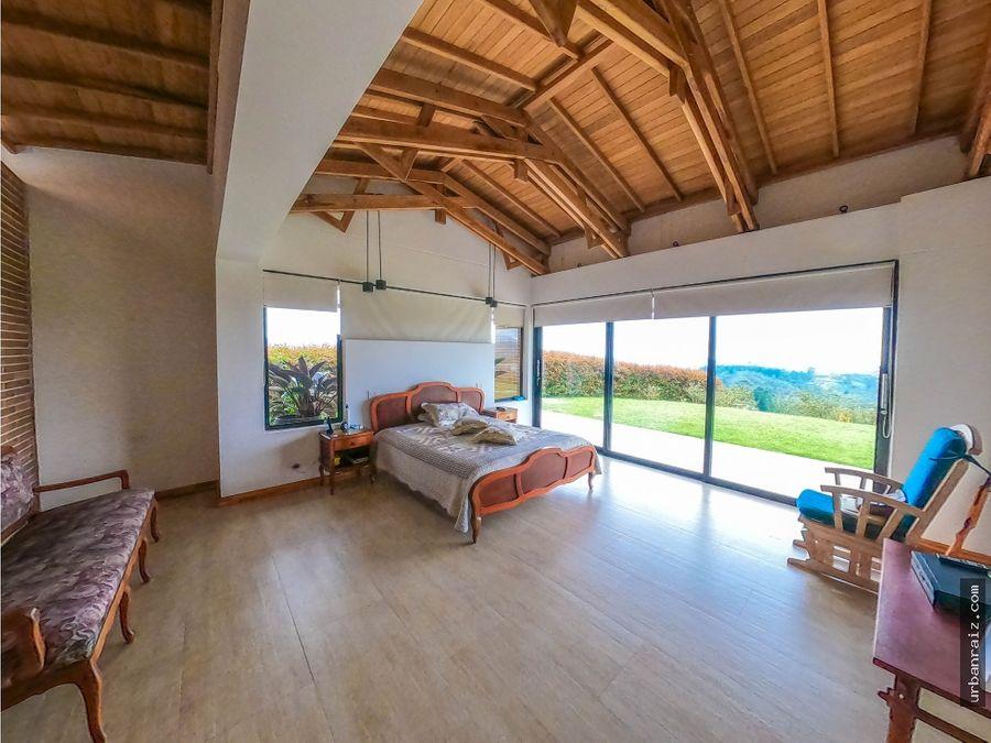 casa campestre en las palmas con vista y moderna