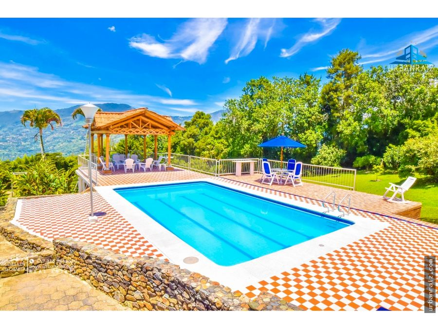 finca en copacabana amplias zonas piscina seguridad