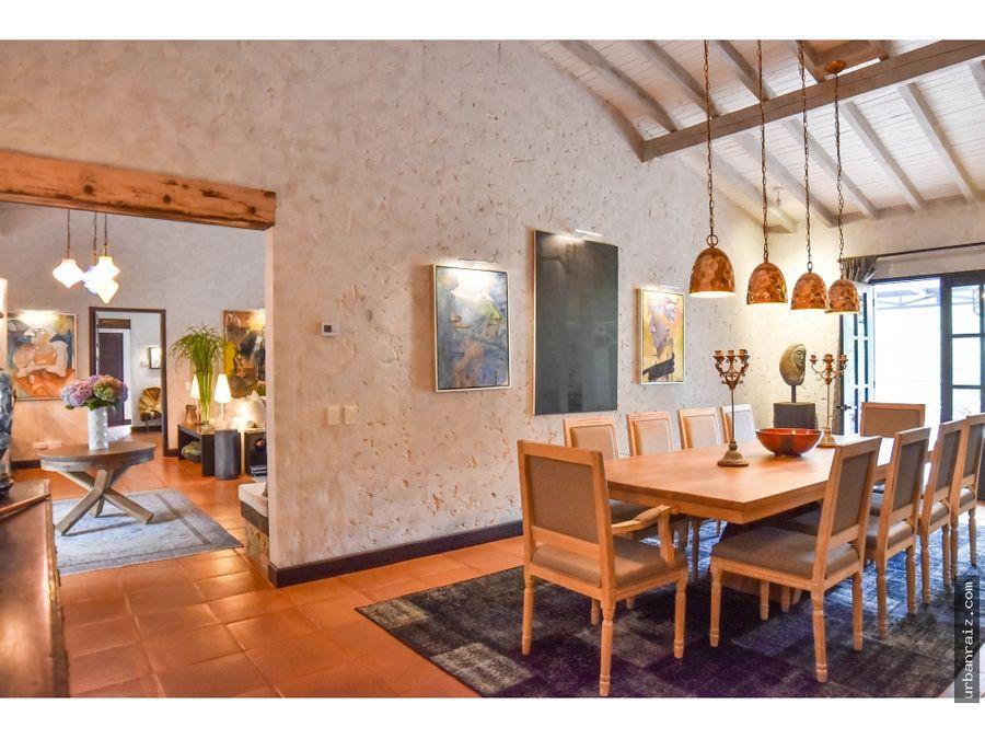 casa campestre en el retiro exclusividad y confort