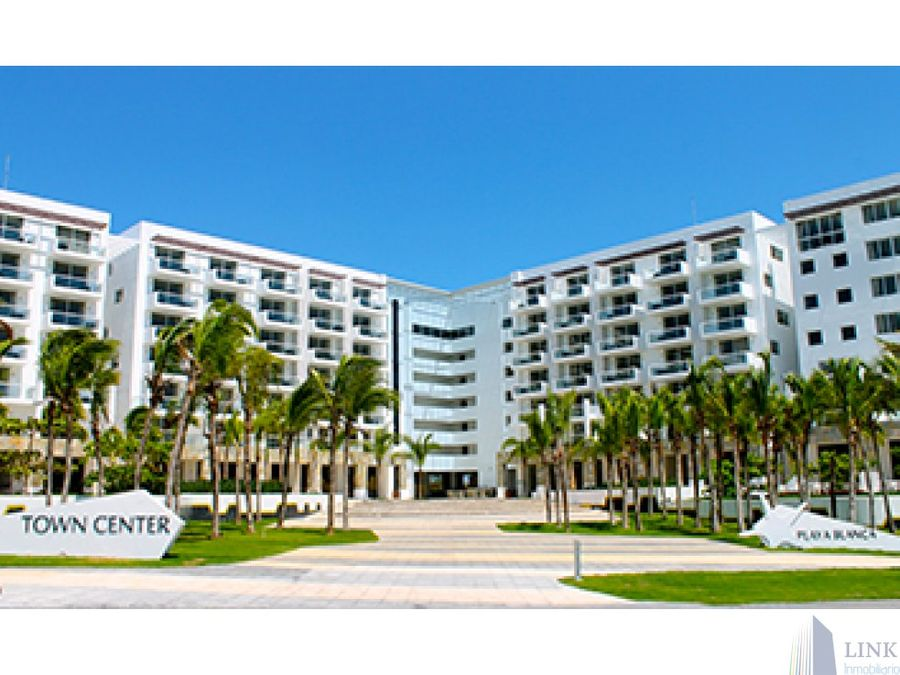 playa blanca towncenter 1y 2 recamaras