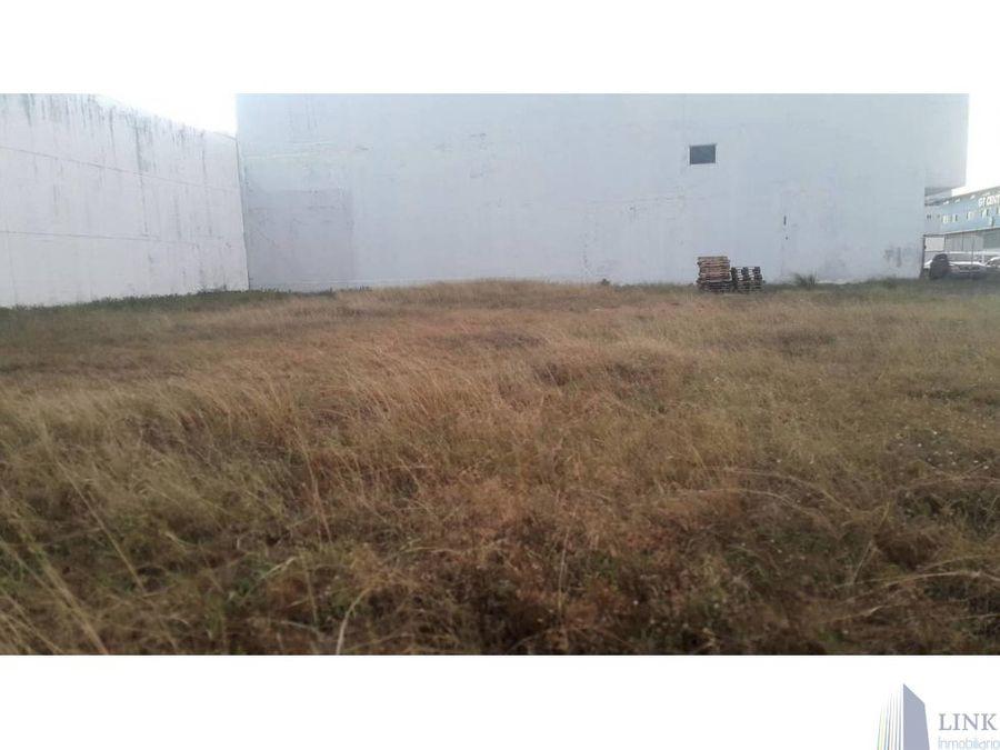 terreno en parque industrial de costa del este