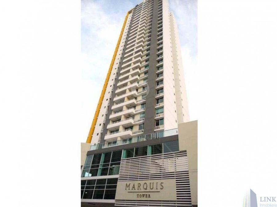 marquis tower pent house en venta el cangrejo