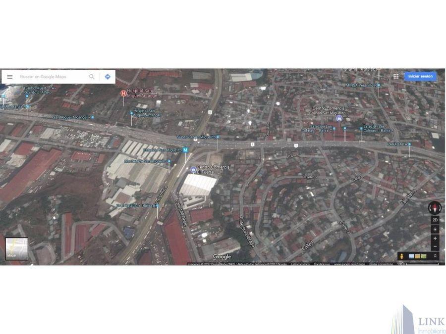 terreno en transistmica 1 has y 660 m2