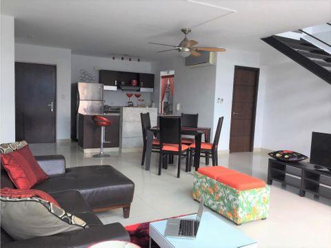 venta apartamento el cangrejo 1 recamara tipo loft 189000