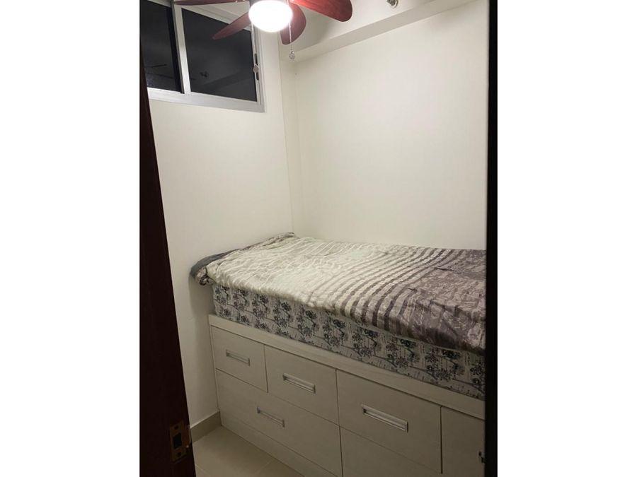 alquiler en carrasquilla 2 recamaras ph residencias del sol 990
