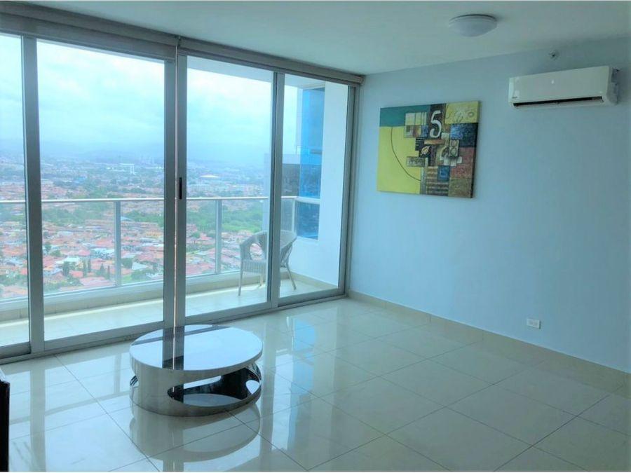 alquiler apartamento 2 recamaras linea blanca ph top tower 1050