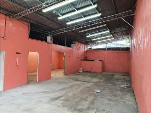 alquiler galera parque lefevre ideal para taller espaciosa 1290