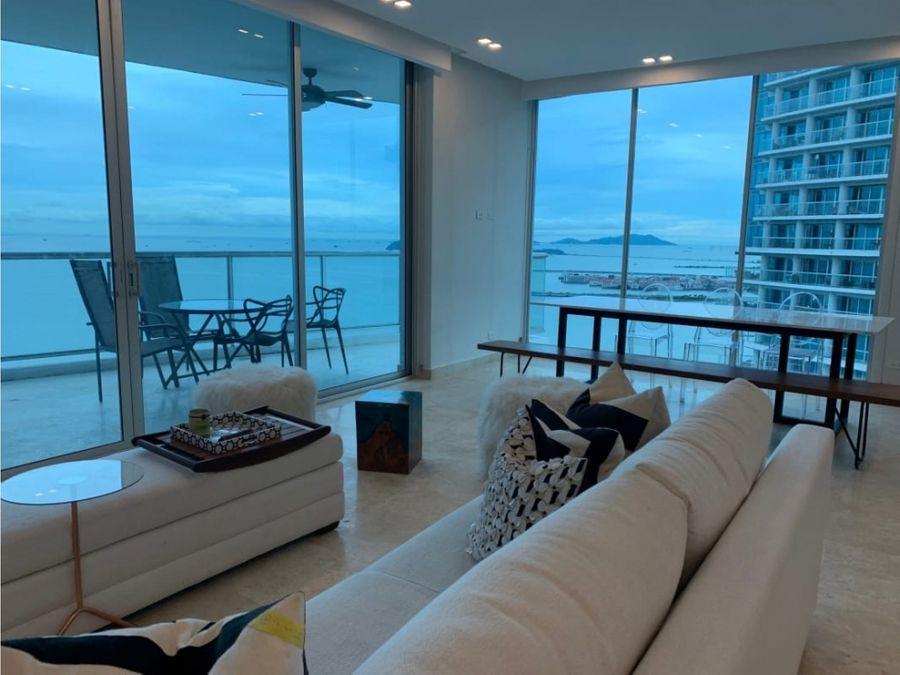 alquiler apartamento avenida balboa 2 recamaras ph sky 1900