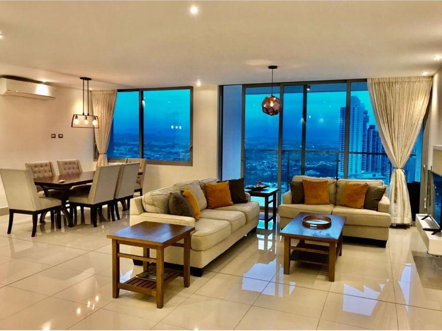 alquiler apartamento costa del este 3 recamaras amoblado ph bali 2000