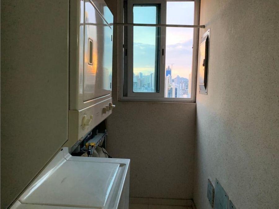 alquiler de apartamento 2 recamaras amoblado ph vista del mar 1200