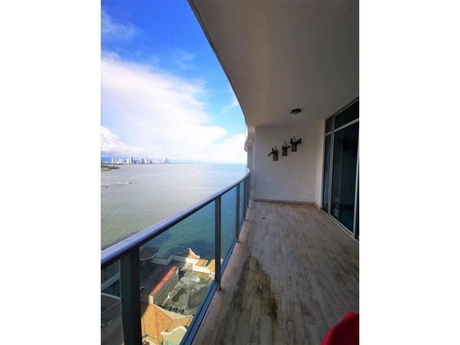 punta pacifica 2 recamaras amoblado frente al mar ph grand tower 2400