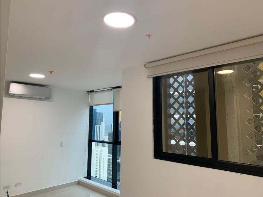 venta apartamento obarrio 1 recamara linea blanca 135000 centrico