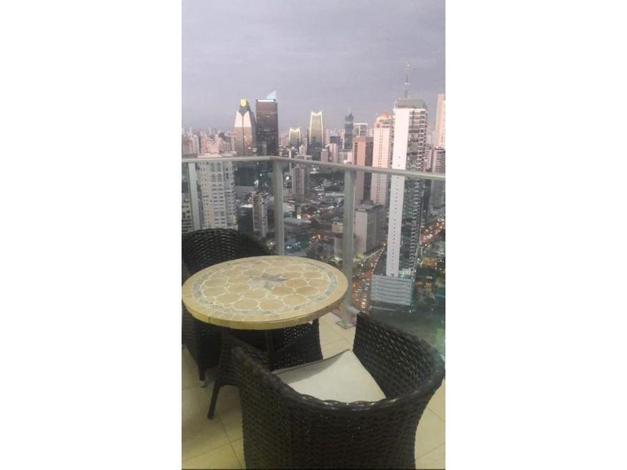alquiler apartamento 2 recamaras amoblado ph white tower 1290