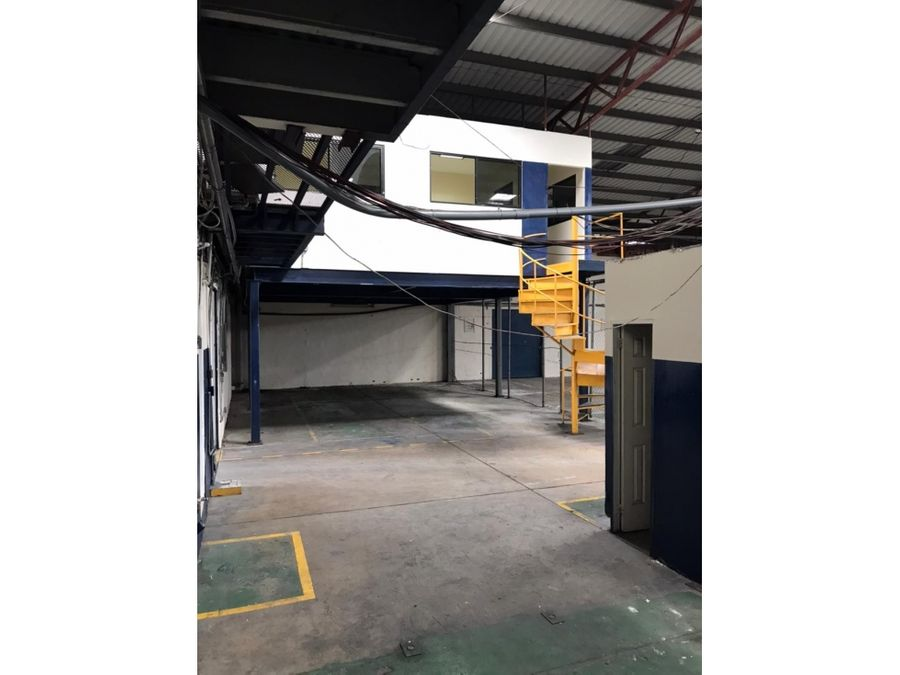 alquiler galera betania zona industrial 820mts2 en 3500