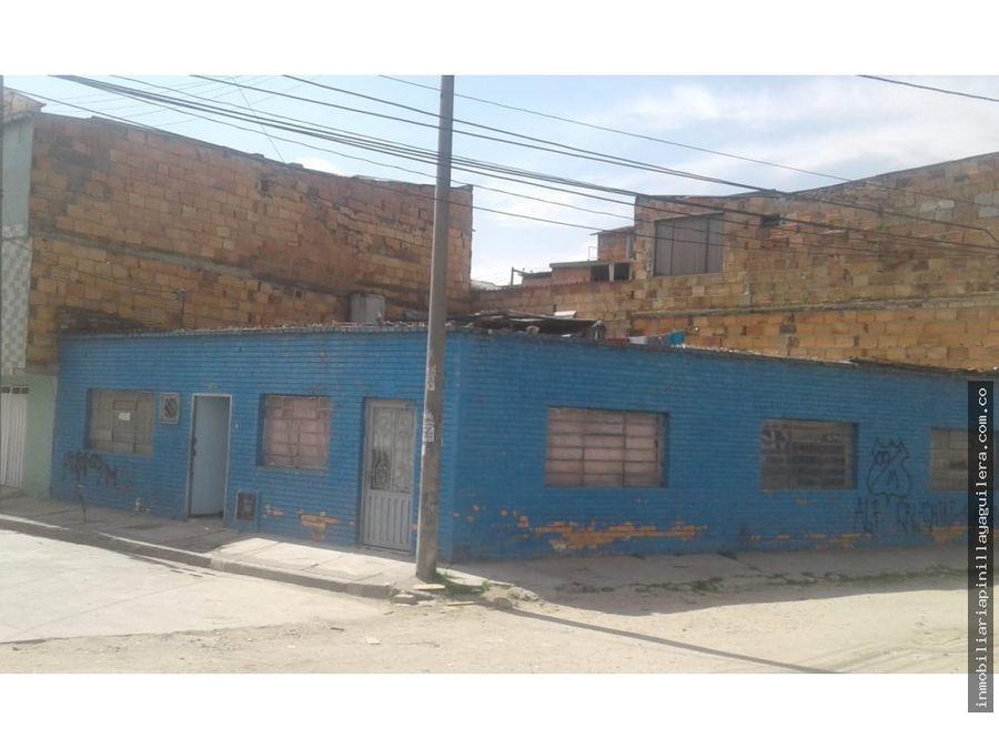 vendo casa esquinera con licencia para proyecto alqueria