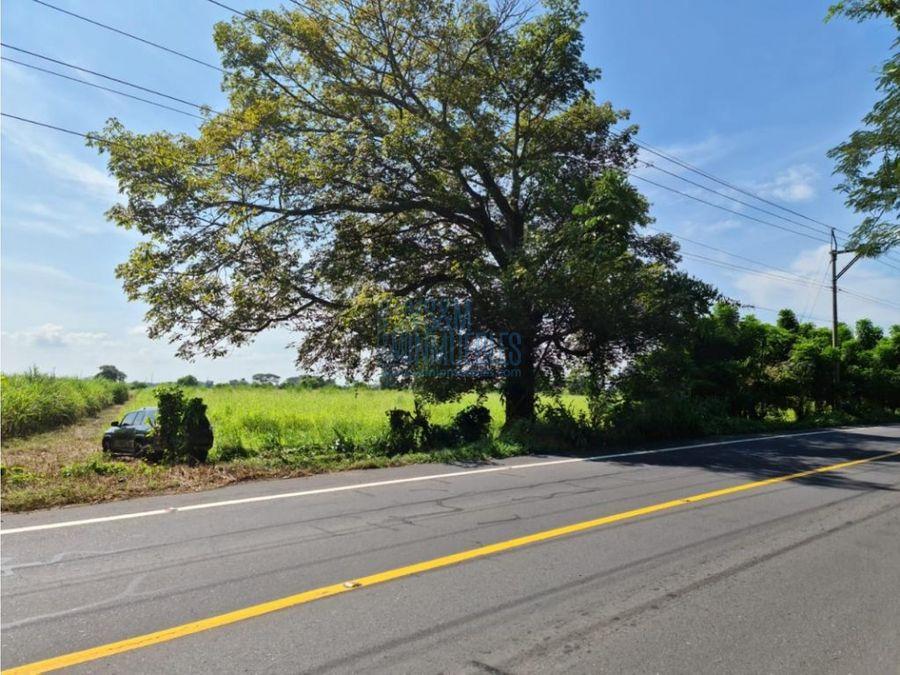 terreno antigua carretera al puerto de san jose