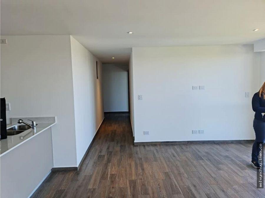 parque 15 en renta lindo apartamento par estrenar con vistas en z15