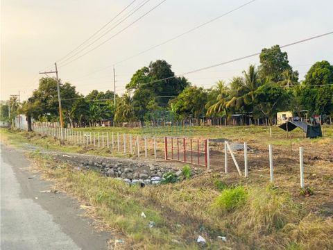 terreno en venta antigua carretera al puerto de san jose
