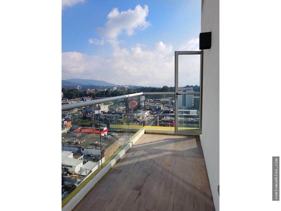 cityhaus zona 10 vendo apartamento nuevo piso alto
