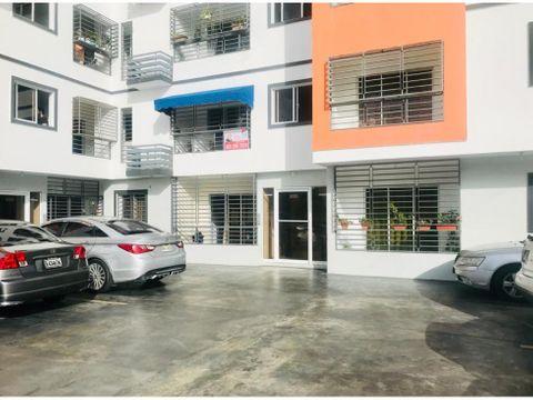 apartamento en reparto rosa de 3 habitaciones