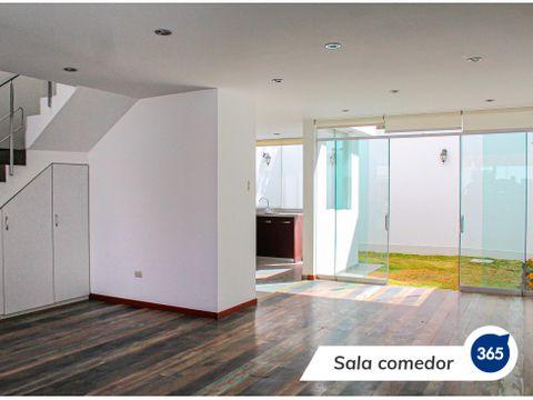 en venta casa en exclusiva quinta privada de cayma