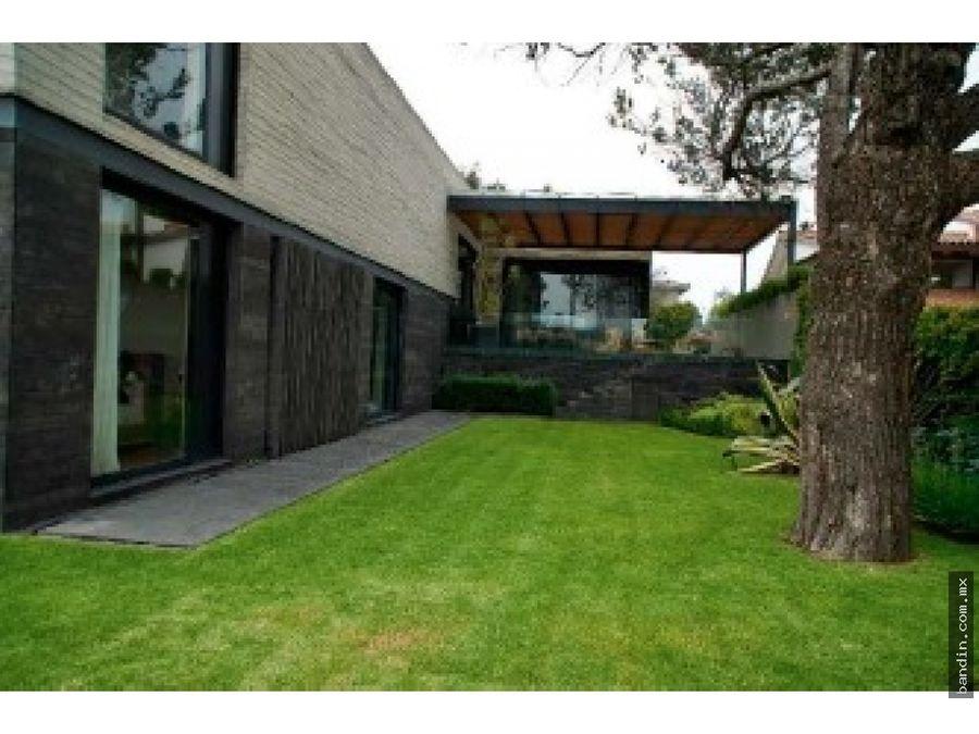 hermosa residencia a la venta en bosques de las lomas