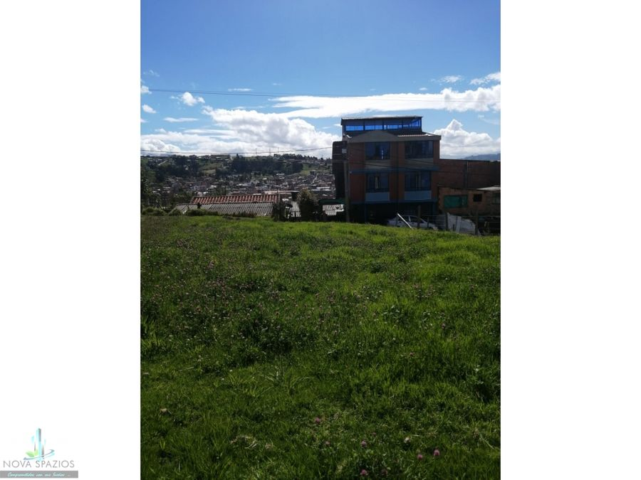 vendemos lote residencial paipa con inigualable ubicacion
