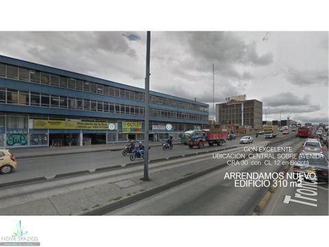 arriendo edificio barrio ricaurte central 310 m2 estrenar