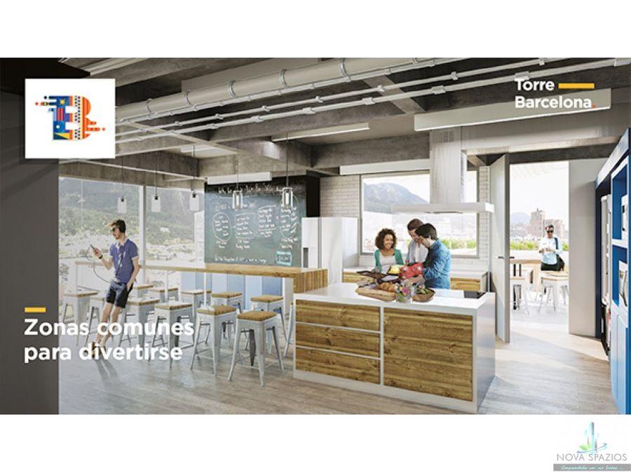 vendemos apartaestudio torre barcelona centro