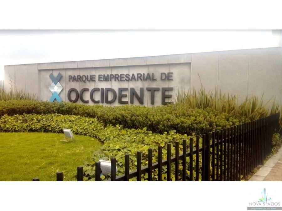 vendo bodega parque empresarial occidente 1526 mt2