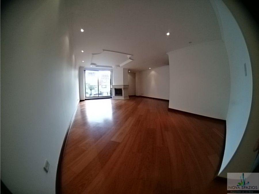 arriendo exclusivo apartamento cedritos 105m2 2h