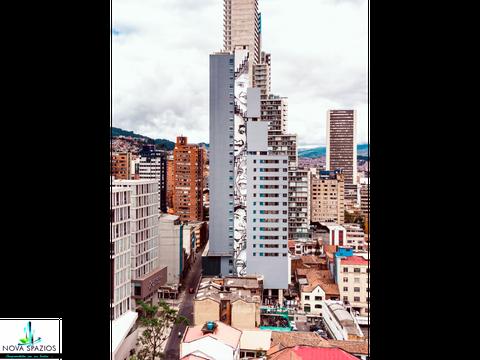 vendemos suite apartaestudio torre barcelona centro