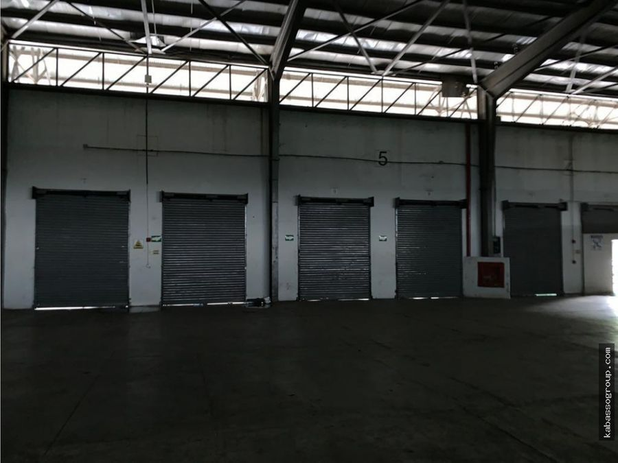 bodegas parque industrial milla 8alquiler o venta varios metrajes