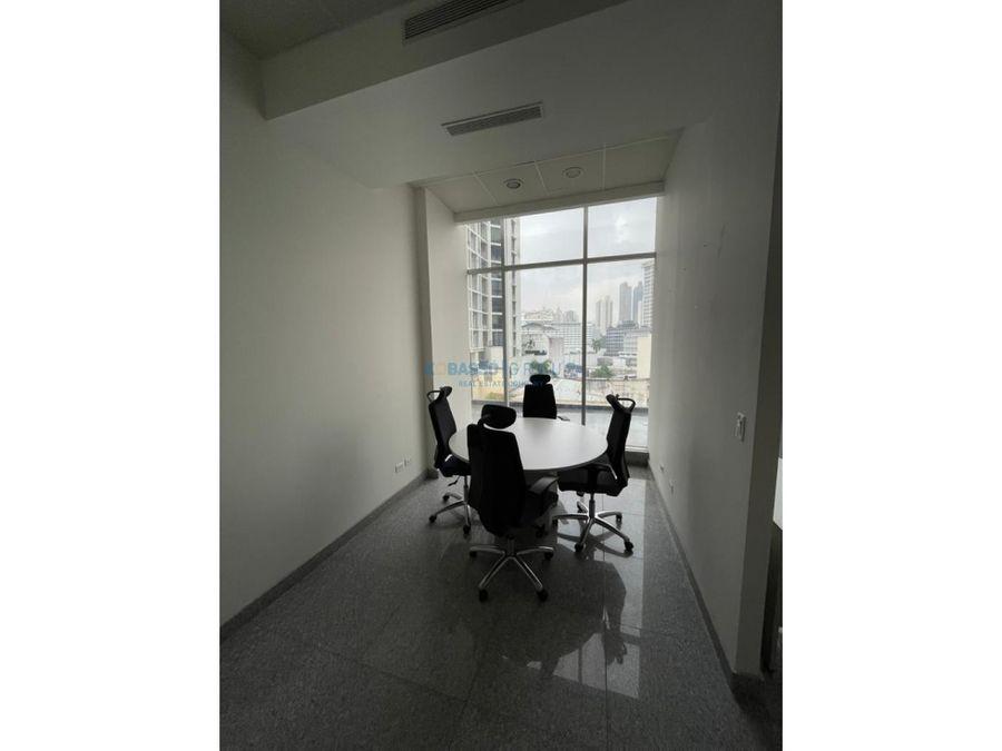 alquilo oficina en bella vista amoblada