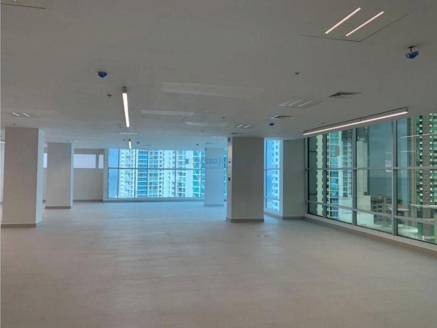 oficina metro bank punta pacifica alquiler vista al mar