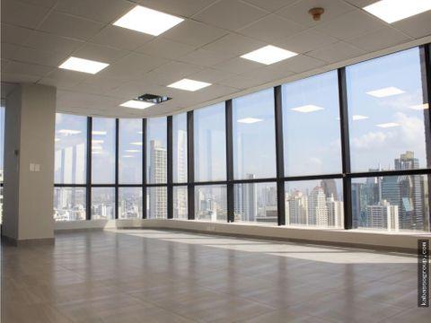 aquilo modernas oficinas amobladas en calle 50varios metrajes