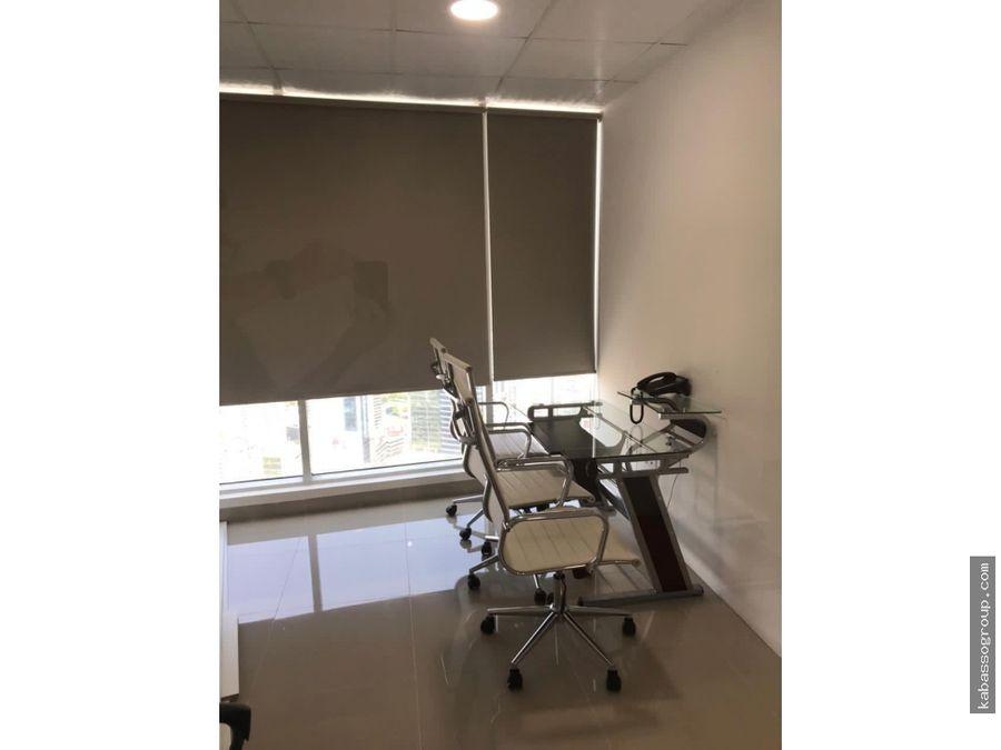 oficina evolution tower calle 50 alquiler