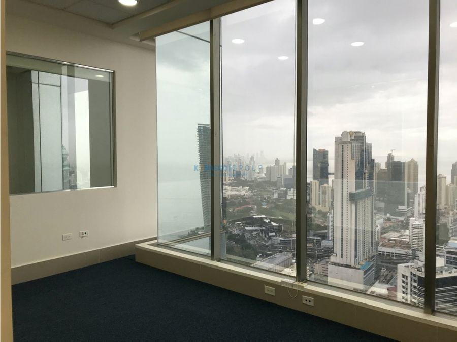 oficina avenida balboa alquiler vista al mar