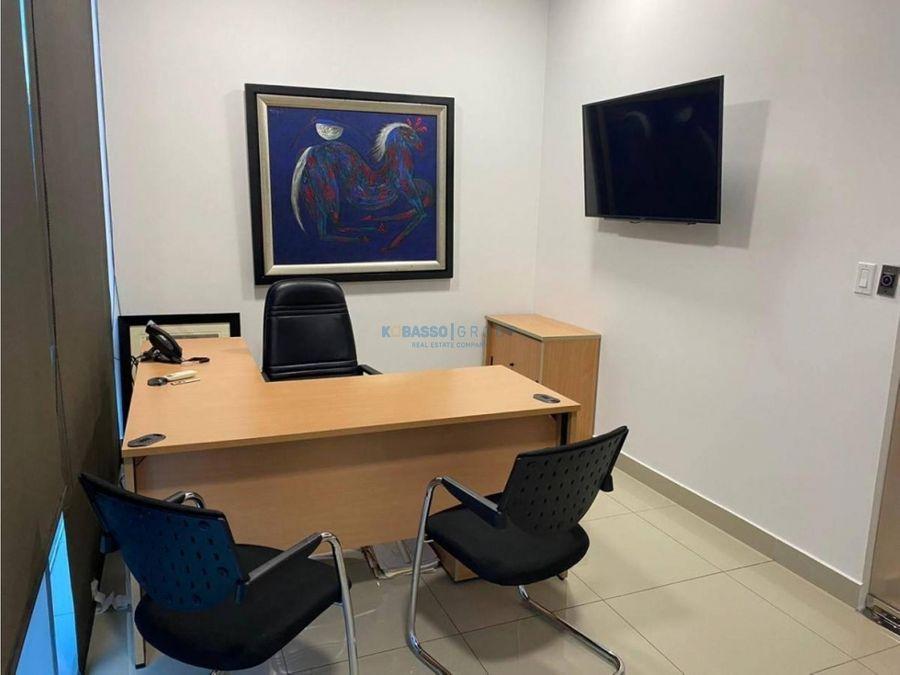 oficina oficce plex santa maria alquiler amoblada