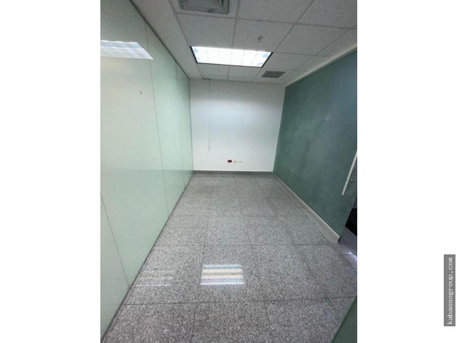 alquilo oficina en global bank calle 50amoblada