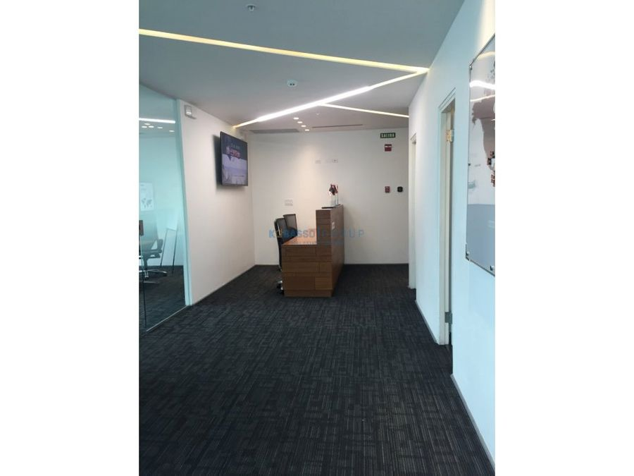 oficina torre financial park costa del este alquiler o venta